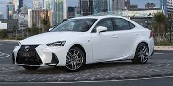 2017 lexus is model range pricing and specs new looks and