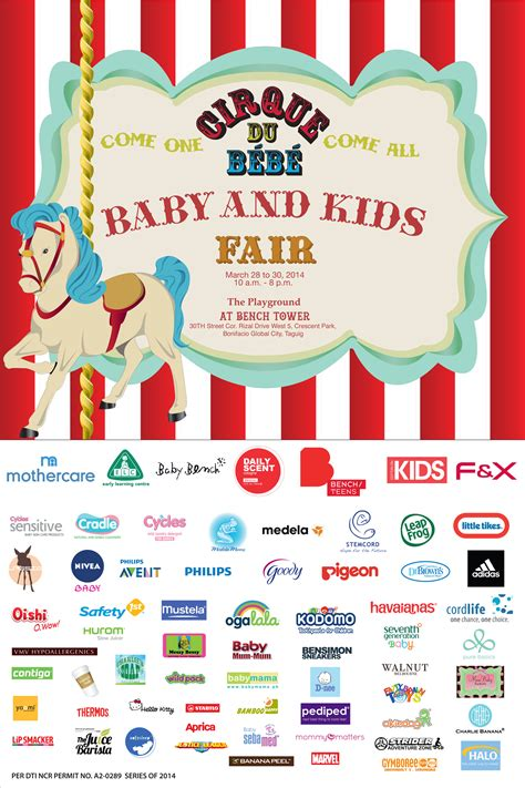 List Of Corporate Giveaways Supplier Philippines - cirque du bebe baby and kids fair mommy ginger
