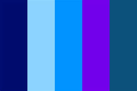 galaxy color palette blues of the galaxy color palette