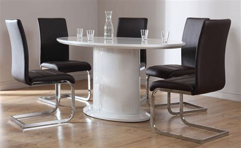 dining table white gloss dining table 150cm