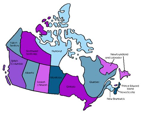 canadian map without names free powerpoint presentations about provinces