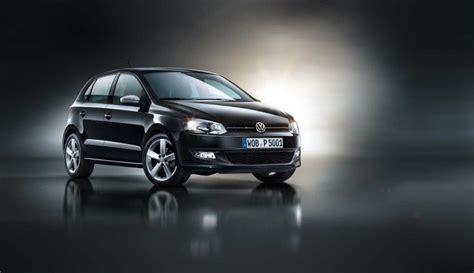 volkswagen polo black vw polo black edition graces germany