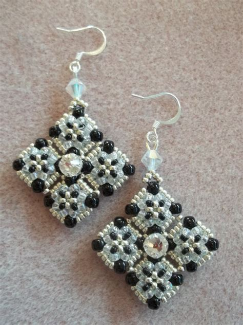 bead weaving tutorials meridian earrings pdf bead weaving tutorial door