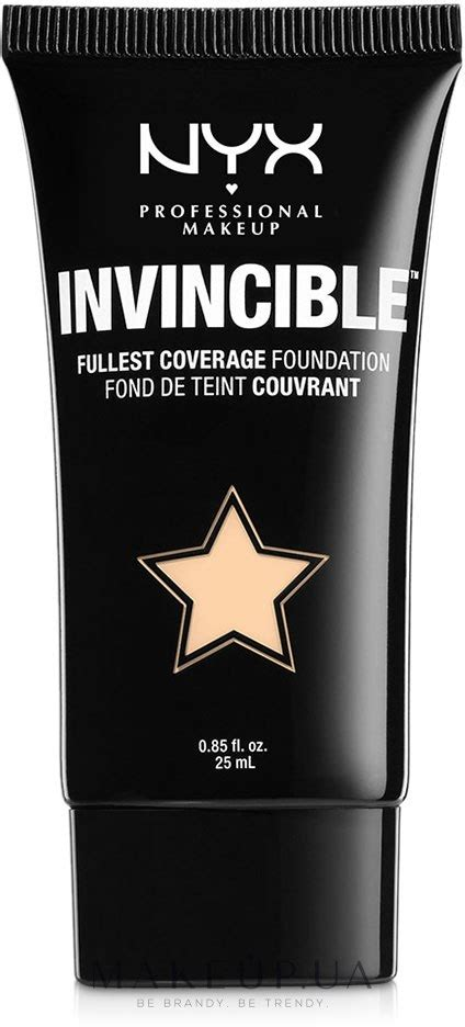 Nyx Invincible Fullest Coverage Foundation makeup nyx professional makeup