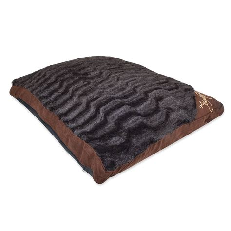 bed cushions pet nights pet cushion animal printing faux fur cheap