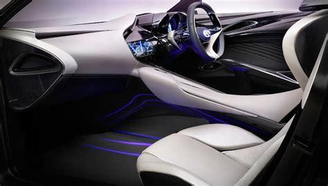 auto interiors upholstery infiniti emerg e concept car geneva motor 2012 show