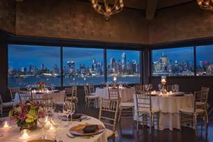 wedding venues in northern nj chart house restaurant venue weehawken nj weddingwire