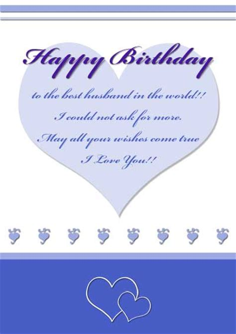 printable birthday cards for husband free printable 30th birthday cards for him