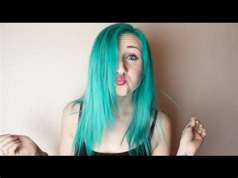 my hd hair color remover tropical green hair dye time