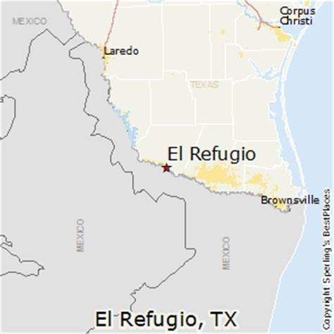 refugio texas map best places to live in el refugio texas