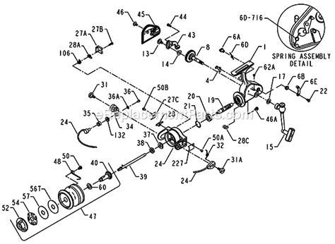 penn reel parts diagram penn 420ss parts list and diagram ereplacementparts
