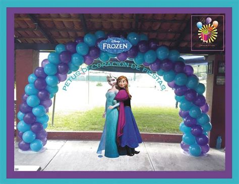 Arreglos Con Globos De Frozen | decoracion con globos de frozen car interior design