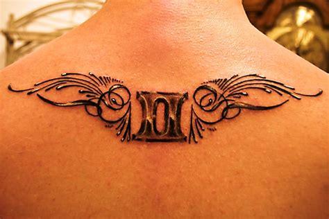 tattoo designs of zodiac signs gemini 45 cool zodiac gemini tattoos