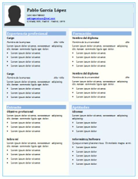 Plantilla De Curriculum Funcional curriculum vitae cronol 243 gico 21 plantillas para