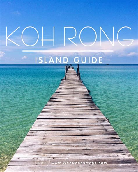 koh rong island guide   maps