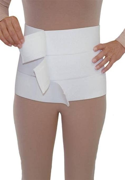 how long to wear abdominal binder after c section style 70 12in abdominal binder adjustable panel by