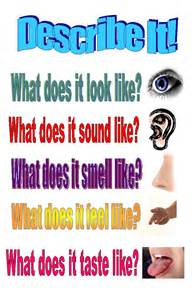 describe it poster teacherlingo com