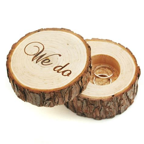 Wedding Ring Box by Personalized Precious Moments Rustic Wedding