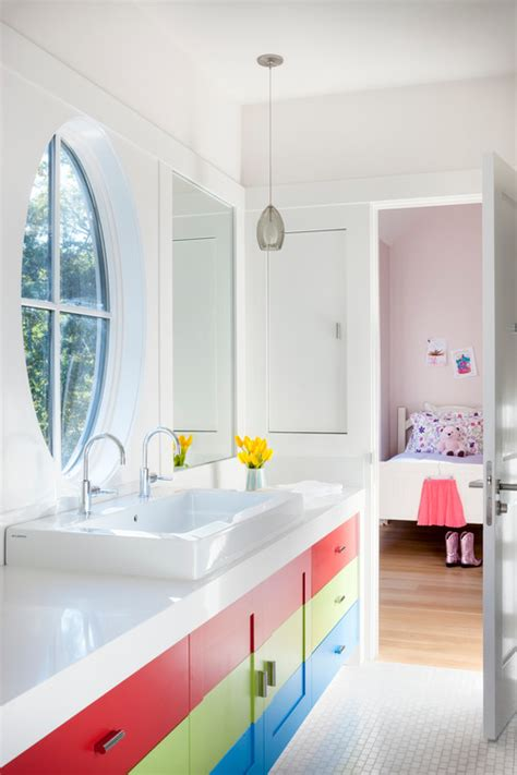 ideas for kids bathrooms 13 colorful ideas for kids bathrooms huffpost
