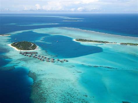 conrad maldives rangali island resort indian ocean aerial