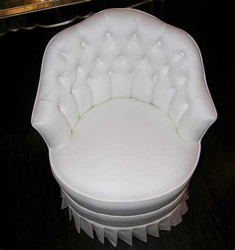 white cotton upholstered vanity chair with pleated skirt white cotton upholstered vanity chair with pleated skirt