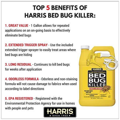 harris bed bugs killer spray   job   pestwiki