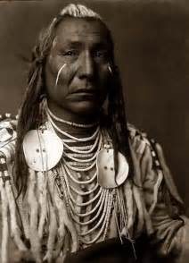 indian with war paint
