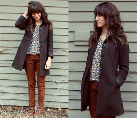 straight hair with outfits tonya s bella dahl all items thrifted except cords