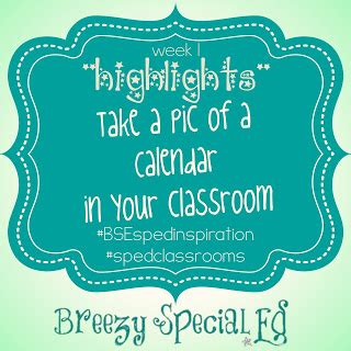 Classroom Calendar Feature Calendars In Special Education Classrooms