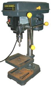 harbor freight bench press drill press
