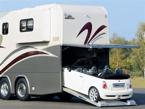 rv with car garage motorhome garage