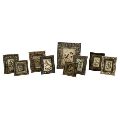 Foto Frame 1 Set filament design lenor 1 opening 5 in x 7 in multicolored picture frames set of 9 79200 9