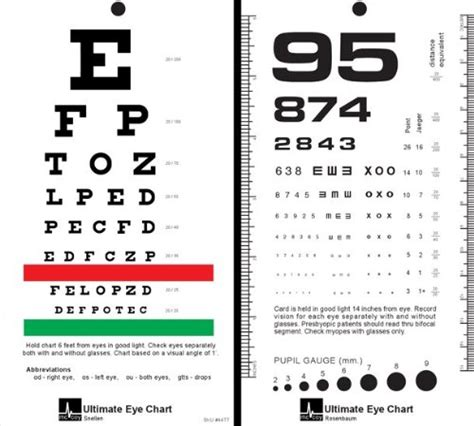 free printable rosenbaum eye chart mccoy ultimate rosenbaum snellen pocket eye chart