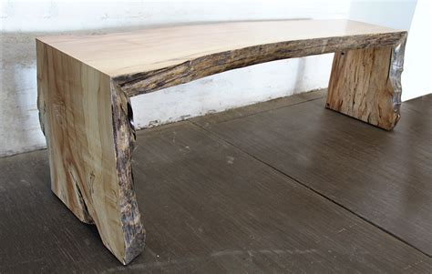 Legs Up Bench Press Spalted Maple Bench Andr 233 Joyau