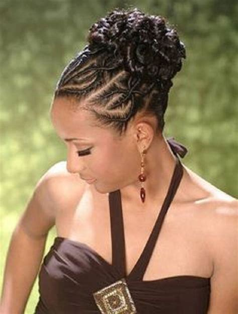 Black Braided Updo Hairstyles by Braided Hairstyles For Black 30 Impressive