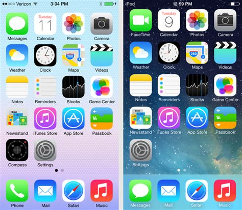 how to make your new ios 7 home screen less