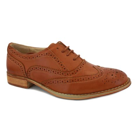 shoes oxford phildon ls6820 womens laced synthetic leather oxford shoes