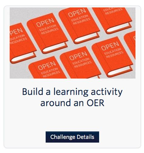 challenge bank a series of workshops on open education you re the