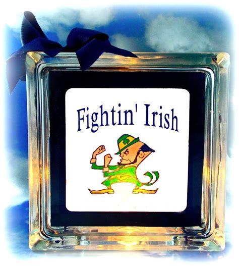 gifts for notre dame fans notre dame fightin bedroom bar decor l light fan