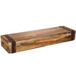 rustic floating shelves large wood rustic chunky wood floating wall shelf hobby lobby 1281674