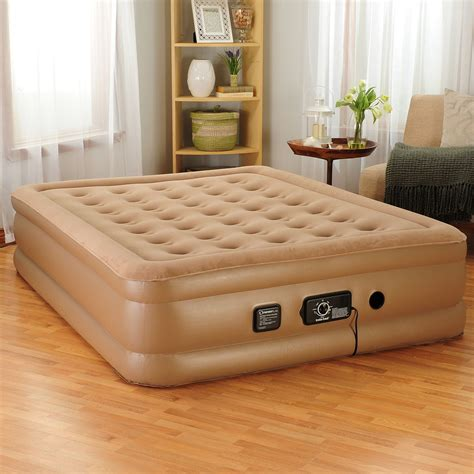 insta bed raised air mattress with never flat pump insta bed 18 quot raised air bed w never flat pump queen new