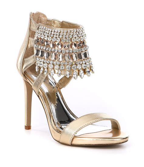 jeweled sandals for wedding ideas dillards gold shoes jeweled sandals for wedding