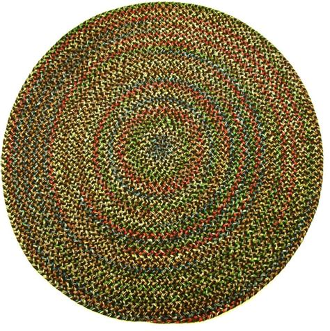 small round accent rugs 4 round small 4x4 rug brown textured braided farmhouse