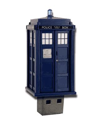 Usb Tardis Complete With Vworp by B3ta Challenge Pointless Usb Devices