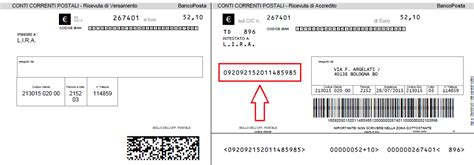 codice banco posta modalita di pagamento