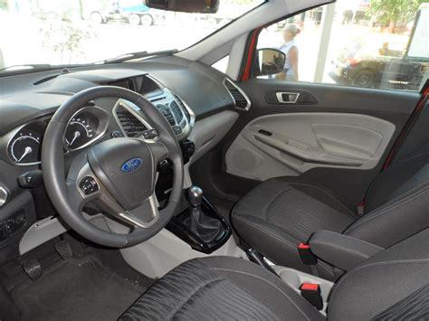 2014 ford ecosport interior interior del ford ecosport 2014 lista de carros