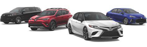 2019 toyota lineup 2019 toyota model reviews rav4 camry corolla