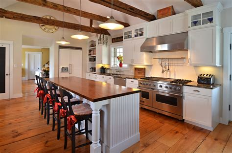 Kitchen Cabinets Red And White by Incorporating New Kitchen Cabinetry In An Antique Home