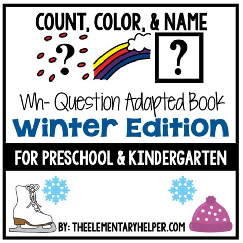 27 winters and counting books count color and name adapted book for preschool