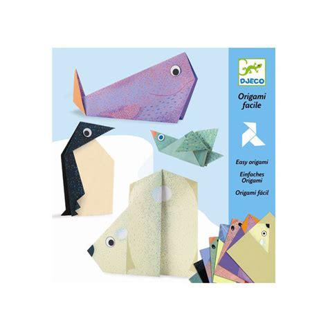 Origami Paper Toys - origami polar animals djeco djc 38777 kinuma